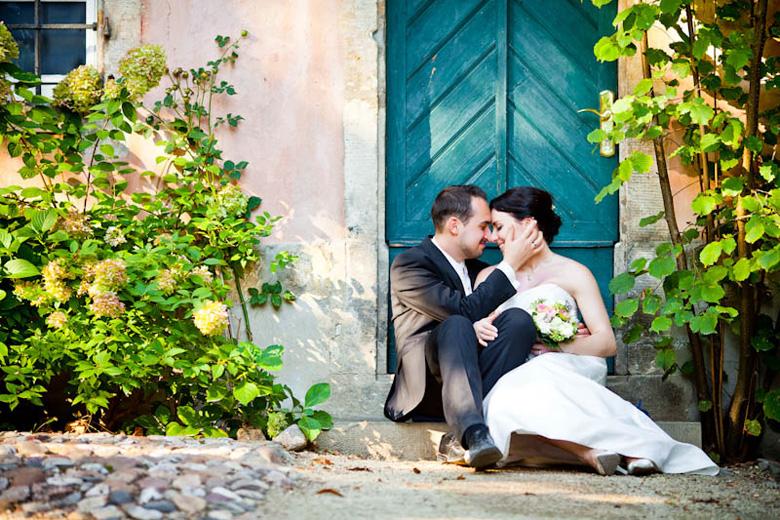 Hochzeitsfotograf in der Villa Sorgenfrei