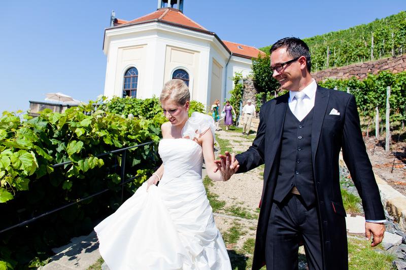 Brautpaar in Wackerbarth