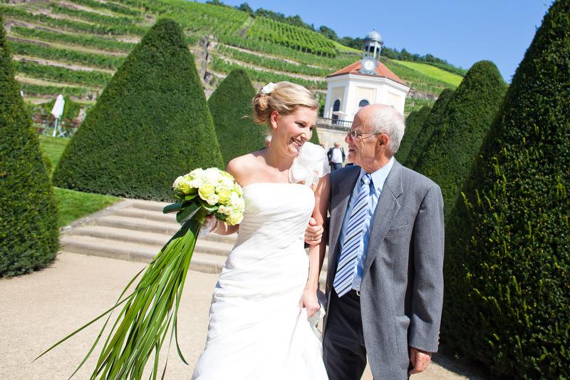 Hochzeitsfoto in Radebeul