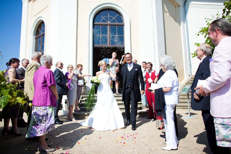 Hochzeitsfotograf auf Schloss Wackerbarth