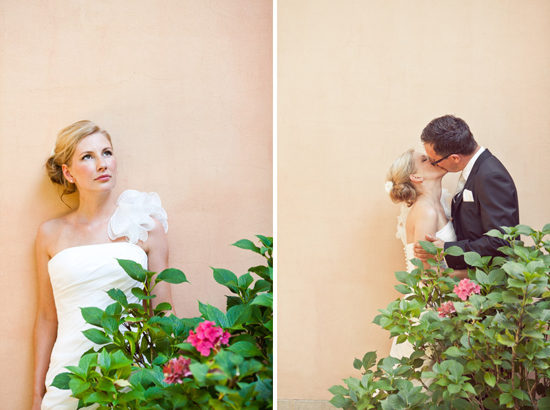 Hochzeitsfotos in Pastell