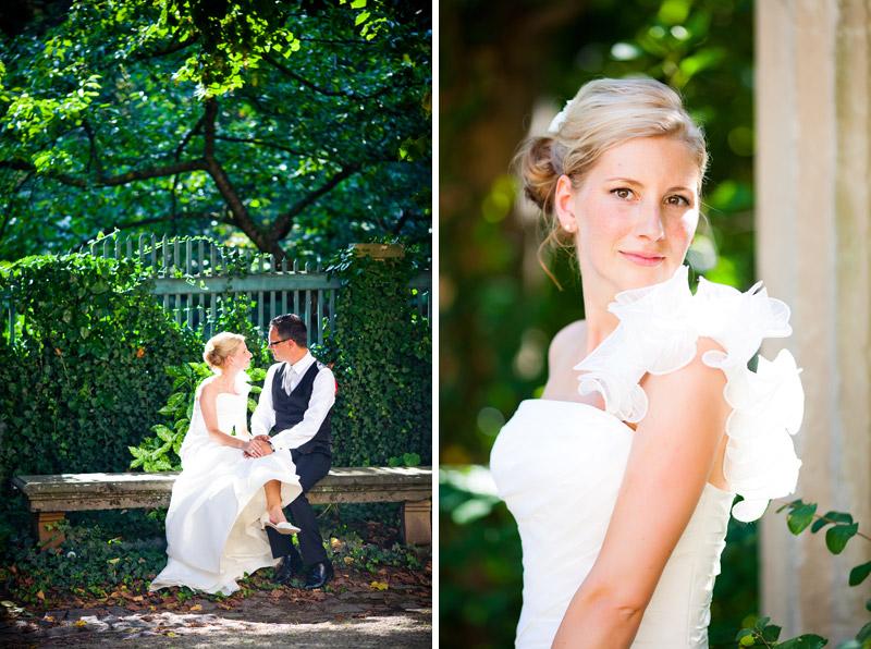 Hochzeitsfotograf und Hochzeitsfotos in der Villa Sorgenfrei in Radebeul bei Dresden